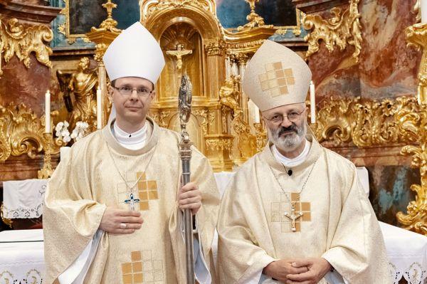 Bérczi L. Bernát ciszterci apát benedikálási ünnepe