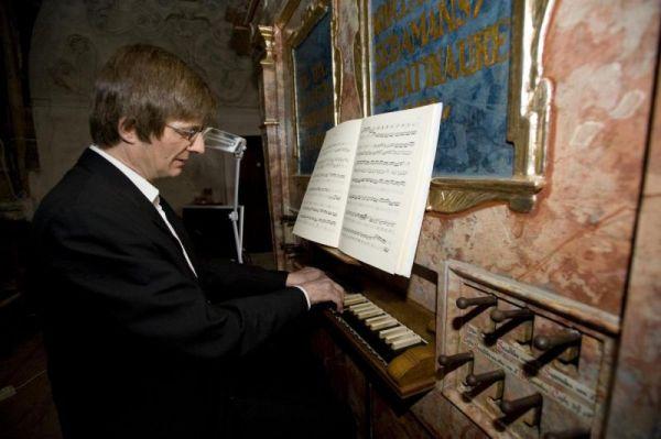 Spányi Miklós orgonaművész hangversenye